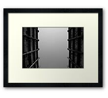 Looking Up v5 - Shek Kip Mei Estate, Hong Kong Framed Print