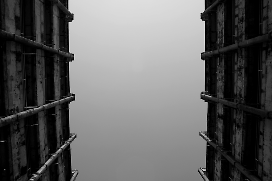 Looking Up v5 - Shek Kip Mei Estate, Hong Kong by Jonathan Russell