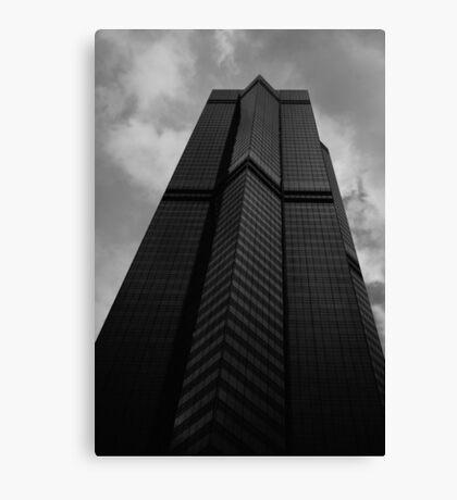 Looking Up v6 - The Centre, Hong Kong Canvas Print
