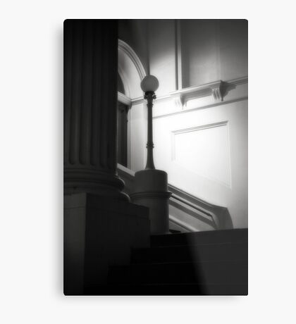 Ethereal pillar light Metal Print