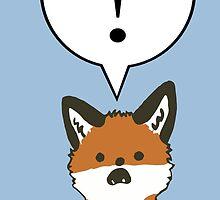 Margo the Shocked Fox by MHirshfield