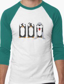 Seal Costume Penguin Men's Baseball ¾ T-Shirt