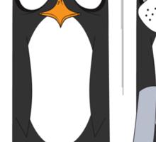 Seal Costume Penguin Sticker