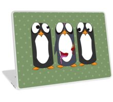 Zombie Penguin Laptop Skin