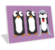 Seal Costume Penguin Laptop Skin