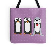 Seal Costume Penguin Tote Bag
