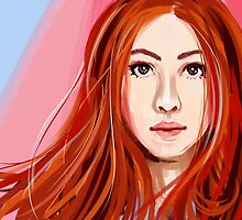 Amy Pond  by Dimension Bound