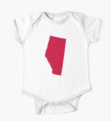 Canada Alberta One Piece - Short Sleeve