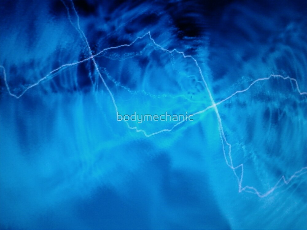 electric blue by bodymechanic