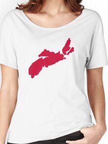 Canada Nova Scotia Women's Relaxed Fit T-Shirt