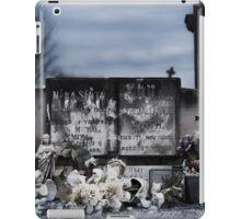 Telarah Cemetery iPad Case/Skin