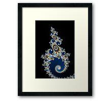 Poseidon's Spear Framed Print