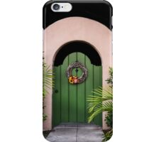 ♫ GREEN DOOR ♫ iPhone Case/Skin