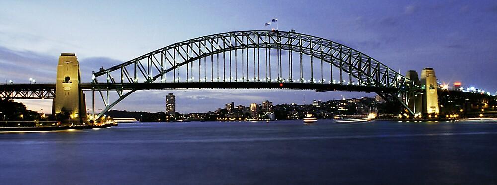 Sydney Harbour Bridge by ottz0