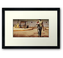 Greek Port No. 3 Framed Print