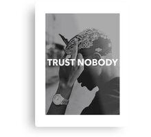 "Tupac ""Trust Nobody"" Tumblr  Metal Print"