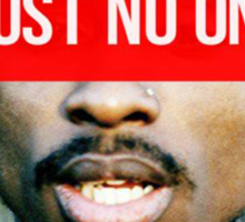 2PAC Trust No One Supreme SALE! Sticker