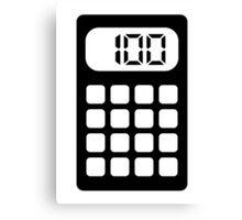 Calculator Canvas Print