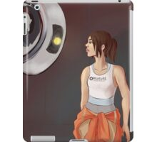 Chell and Glados iPad Case/Skin