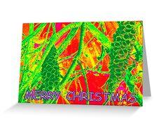 Neon Banksia Greeting Card
