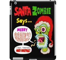 Santa Zombie iPad Case/Skin
