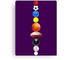 Sports Solar System Canvas Print