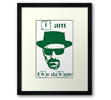 Breaking Bad - I am the danger Framed Print