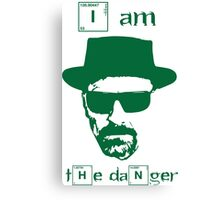 Breaking Bad - I am the danger Canvas Print