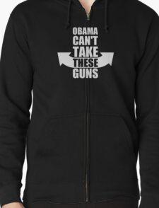 Barack Obama Can't Take These Guns T-Shirt