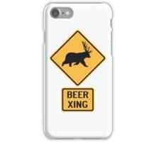 Bear Deer Beer Crossing iPhone Case/Skin