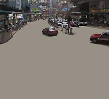 HK asphalt by Yuval Fogelson