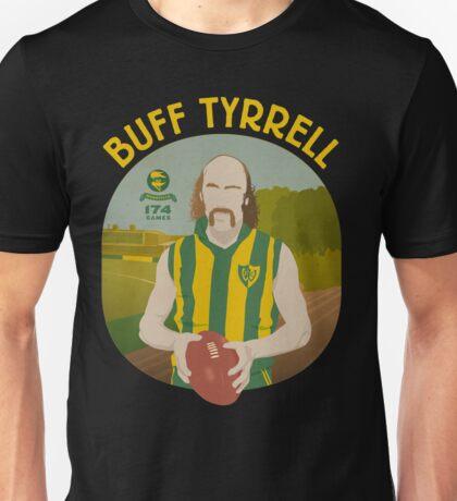 Buff Tyrrell - Woodville (for dark shirts only) Unisex T-Shirt