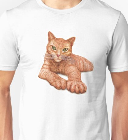 Orange Tabby Unisex T-Shirt