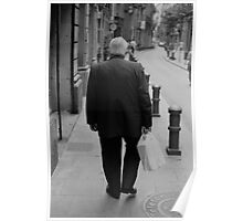 Old Man, Barcelona Poster