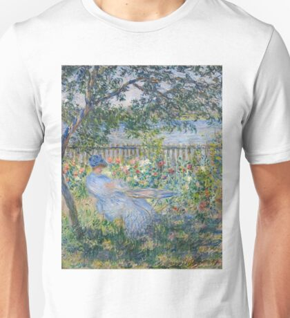 Claude Monet - At The Terrace At Vetheuil, 1881 Unisex T-Shirt