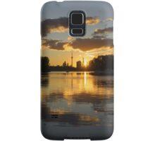 Burning Sunset at the Beaches Marina Samsung Galaxy Case/Skin