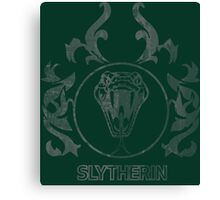 Slytherin Crest Canvas Print