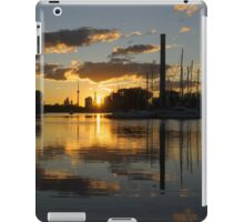 Burning Sunset at the Beaches Marina iPad Case/Skin