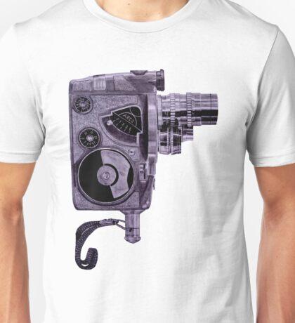 1960's Video Camera Drawing Unisex T-Shirt