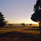 Sunrise at Kitchwa Tembo Campsite by Brian Murray