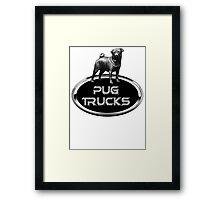 PUG Trucks Framed Print