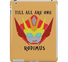 Till All - Rodimus (Hot Rod) iPad Case/Skin