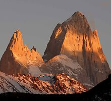 Mt Fitzroy Sunrise by jlineen