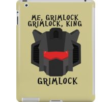 Me, Grimlock iPad Case/Skin