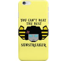 Beat the Best - Sunstreaker iPhone Case/Skin