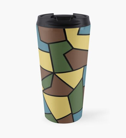 WW1 Camo Travel Mug