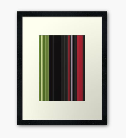 Red Green Card Framed Print