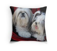 Two Cute!! Throw Pillow