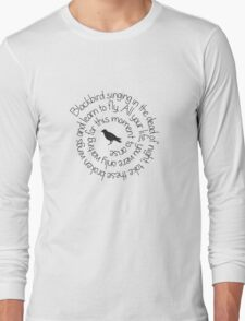 Black Bird Long Sleeve T-Shirt