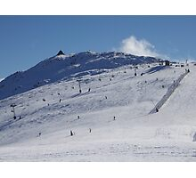 The Summit - Mt Buller Opening Weekend 2007 Photographic Print